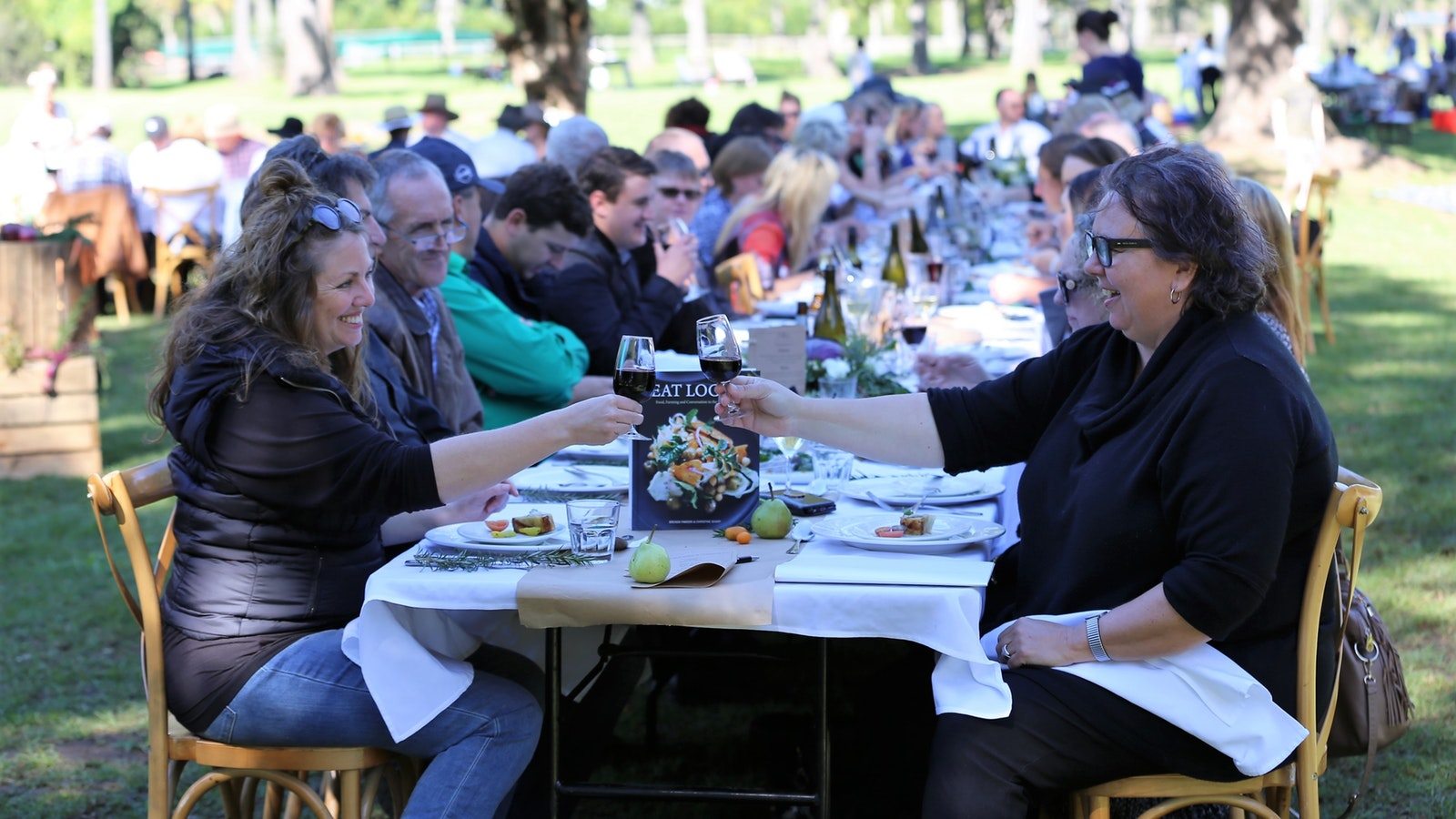 O'Reilly's Canungra Valley Vineyards Longest Lunch